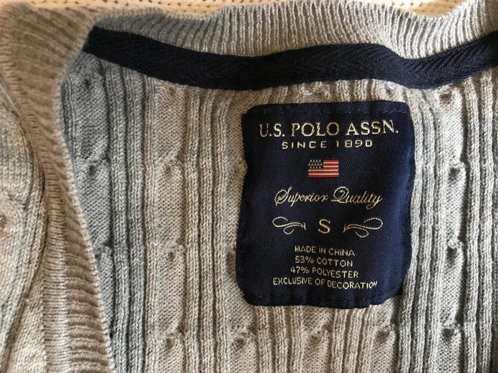 Новый кардиган U.S. Polo Assn р.S