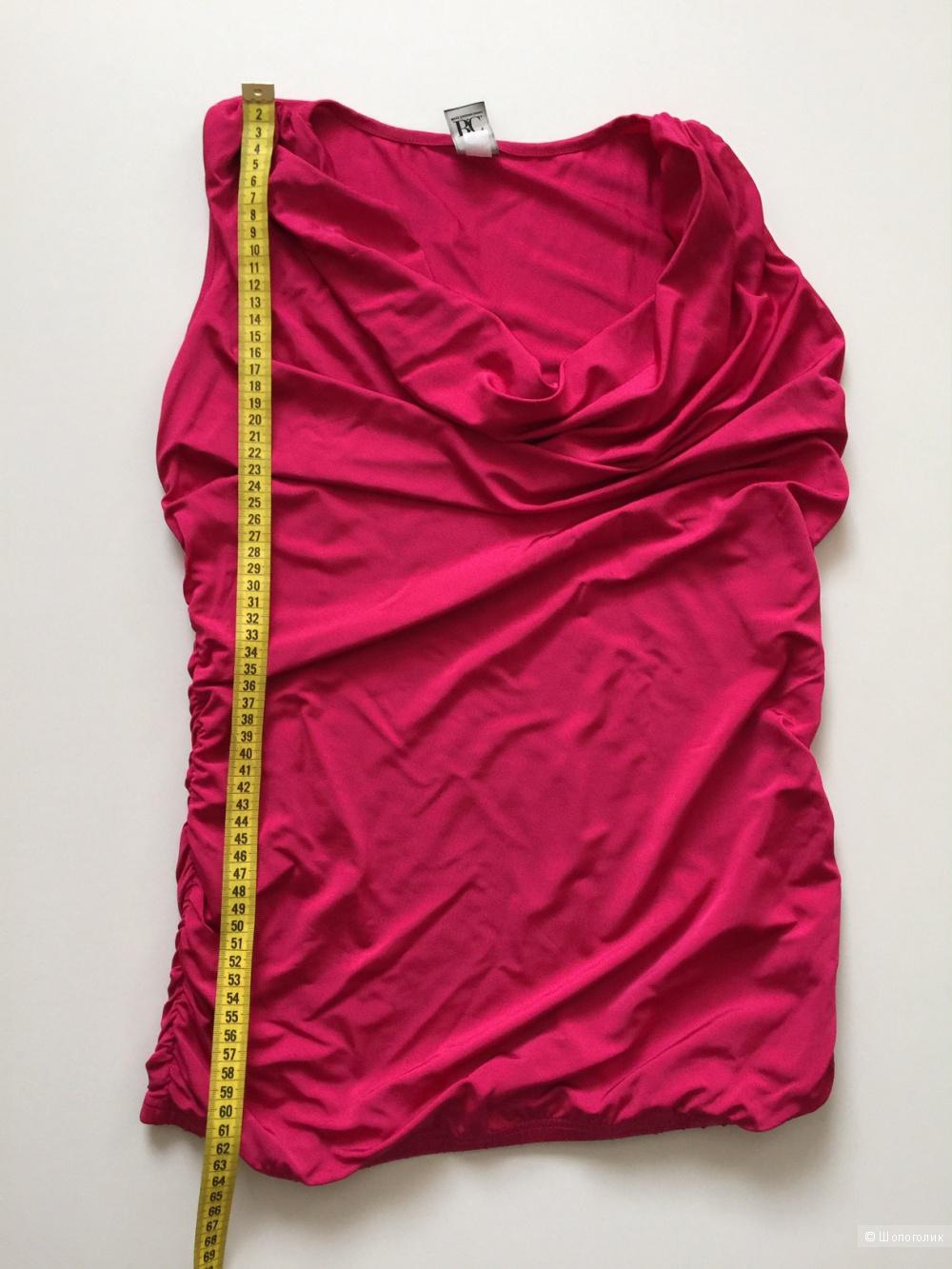 Топ удлиненный цвета фуксия марка B.C. размер M