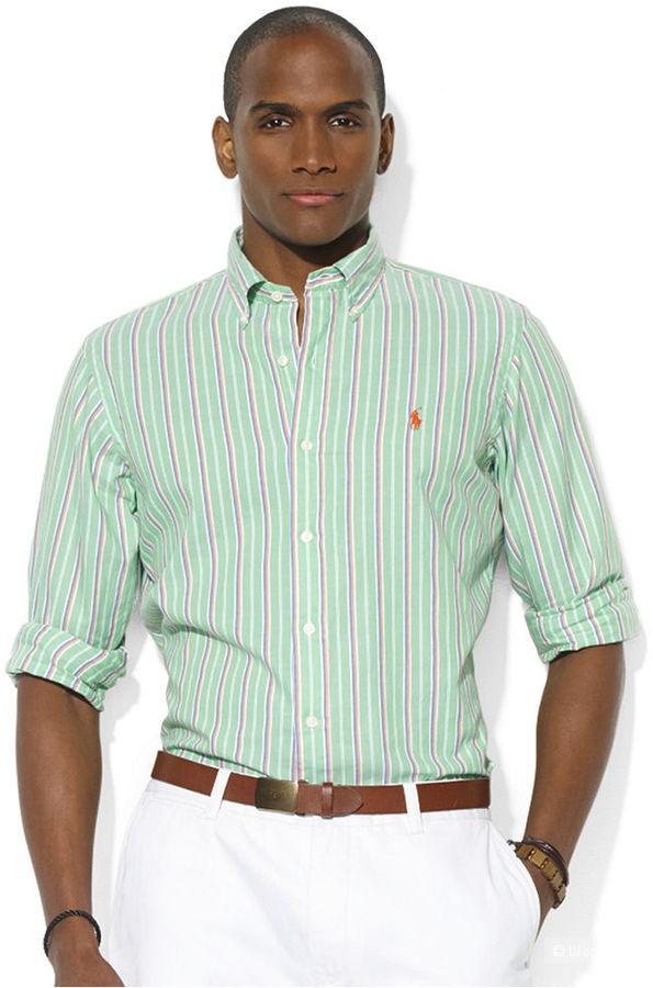 Ralph Lauren: хлопковая рубашка , оригинал, 44-46