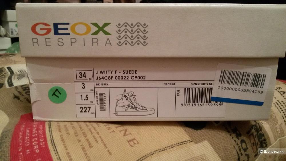 Ботинки GEOX р. 34