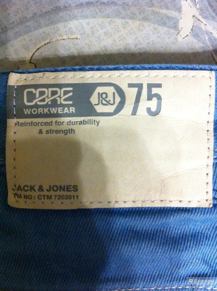 Джинсы мужские JACK&JONES 46-48 размер