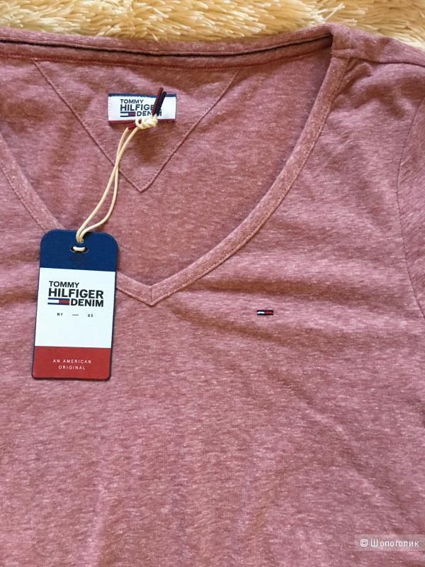Hilfiger denim новая оригинальная футболка S