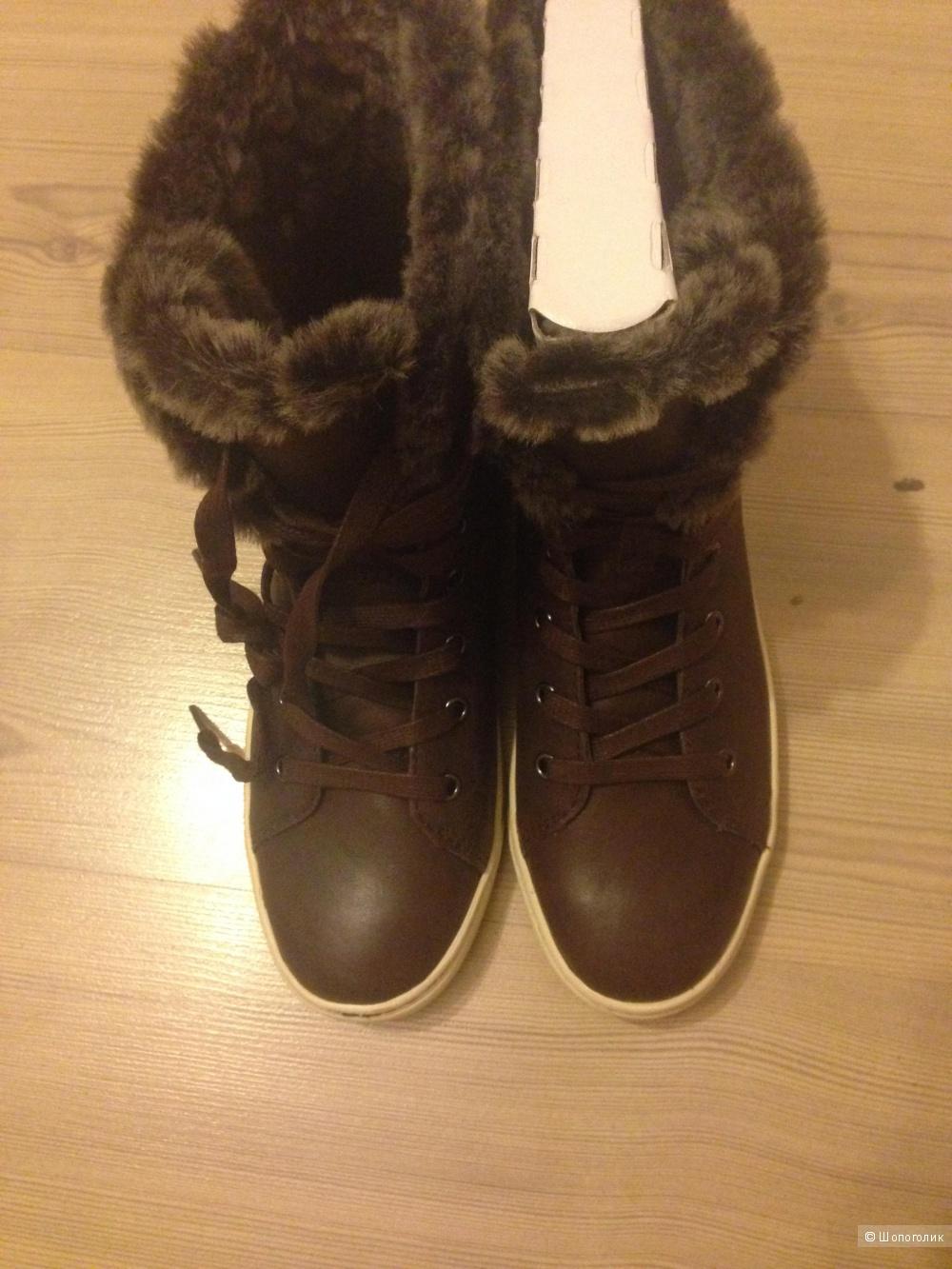 Высокие ботинки ugg на 36 размер ( us 6.5)