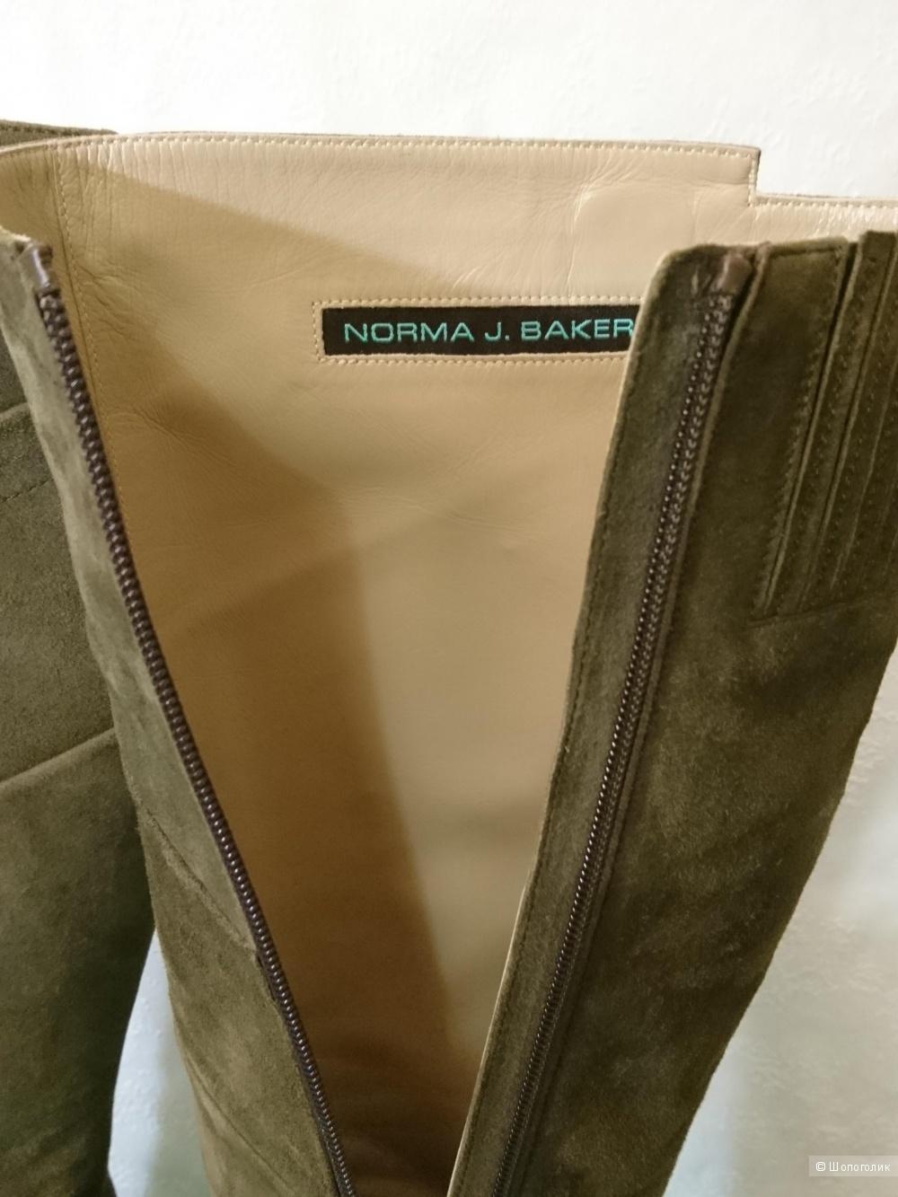 Сапоги итальянские Norma J. Baker,37 размер