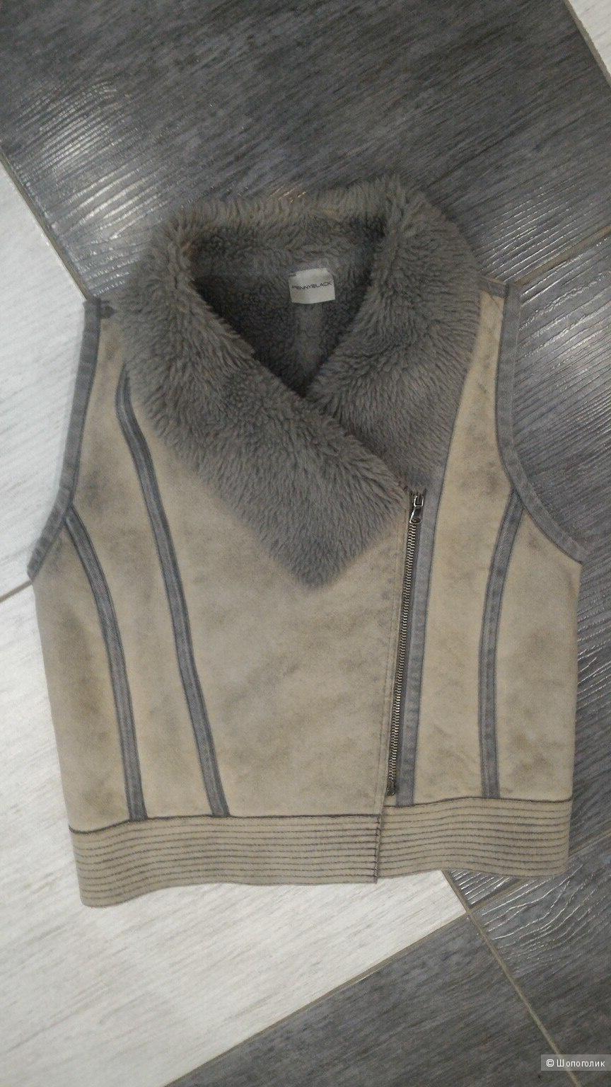 Теплый жилет Pennyblack, размер 6 USA