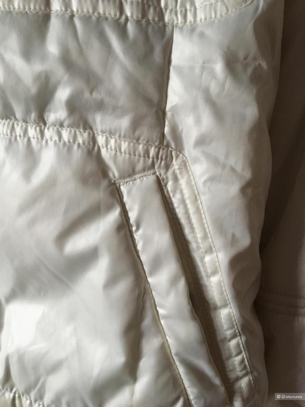 Белая утепленная куртка Phard, размер L