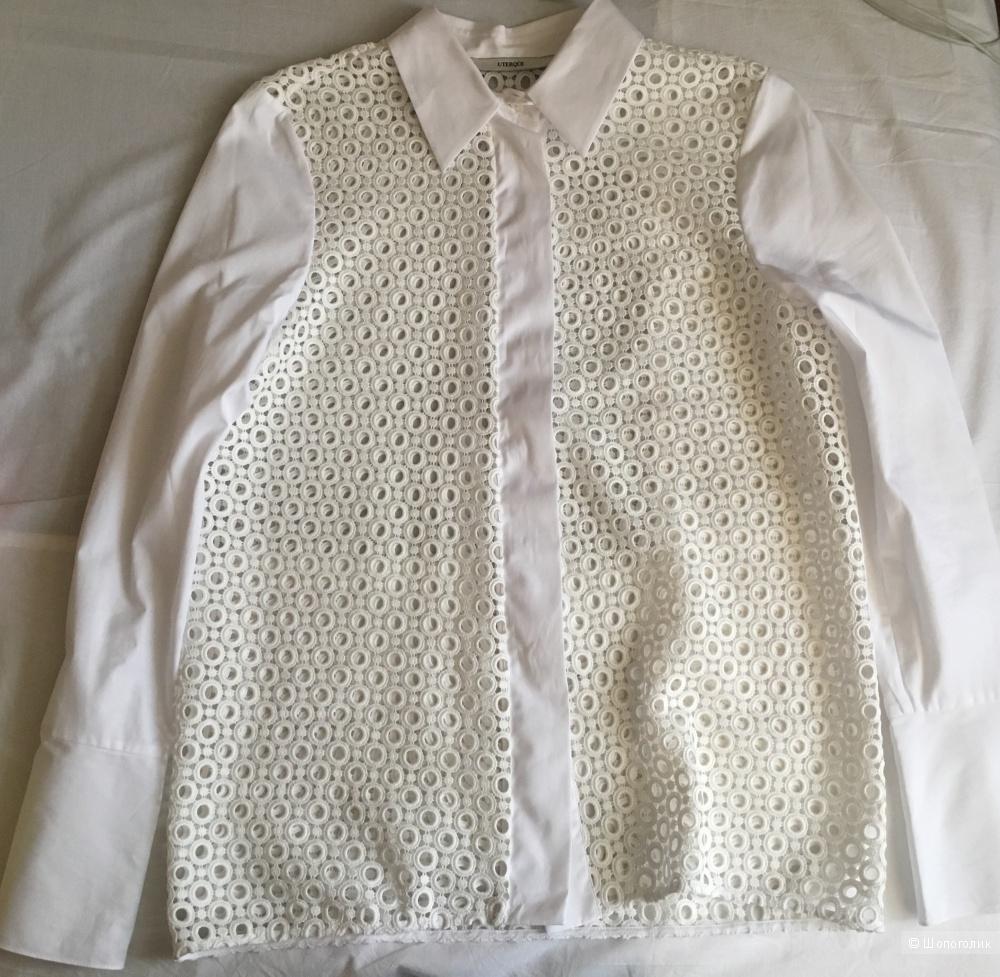 Белая рубашка Uterque размер S