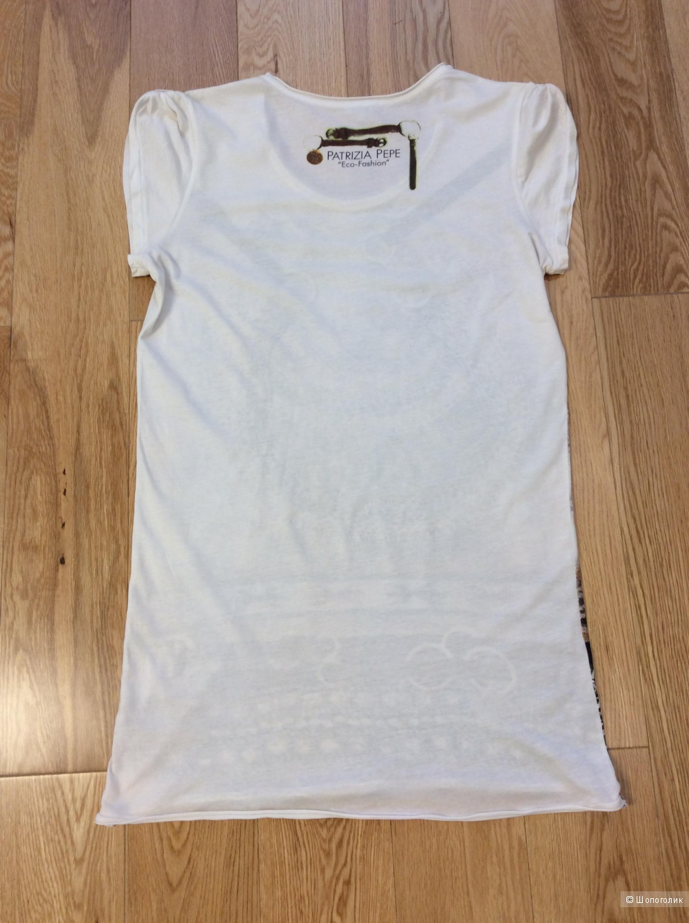 Удлиненная футболка Patrizia Pepe р.3 (на 44-48)