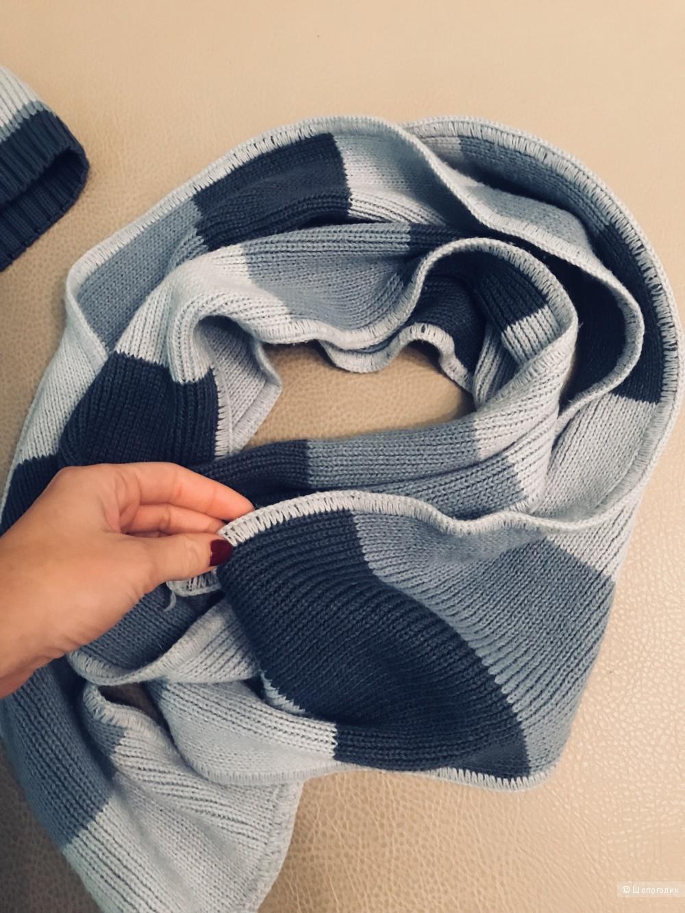 Комплект (шапочка + шарф)