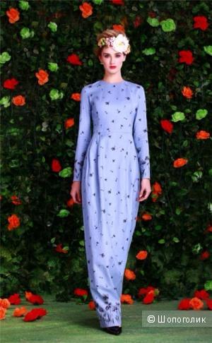 Голубое платье в пол ISABEL GARCIA 36 размер