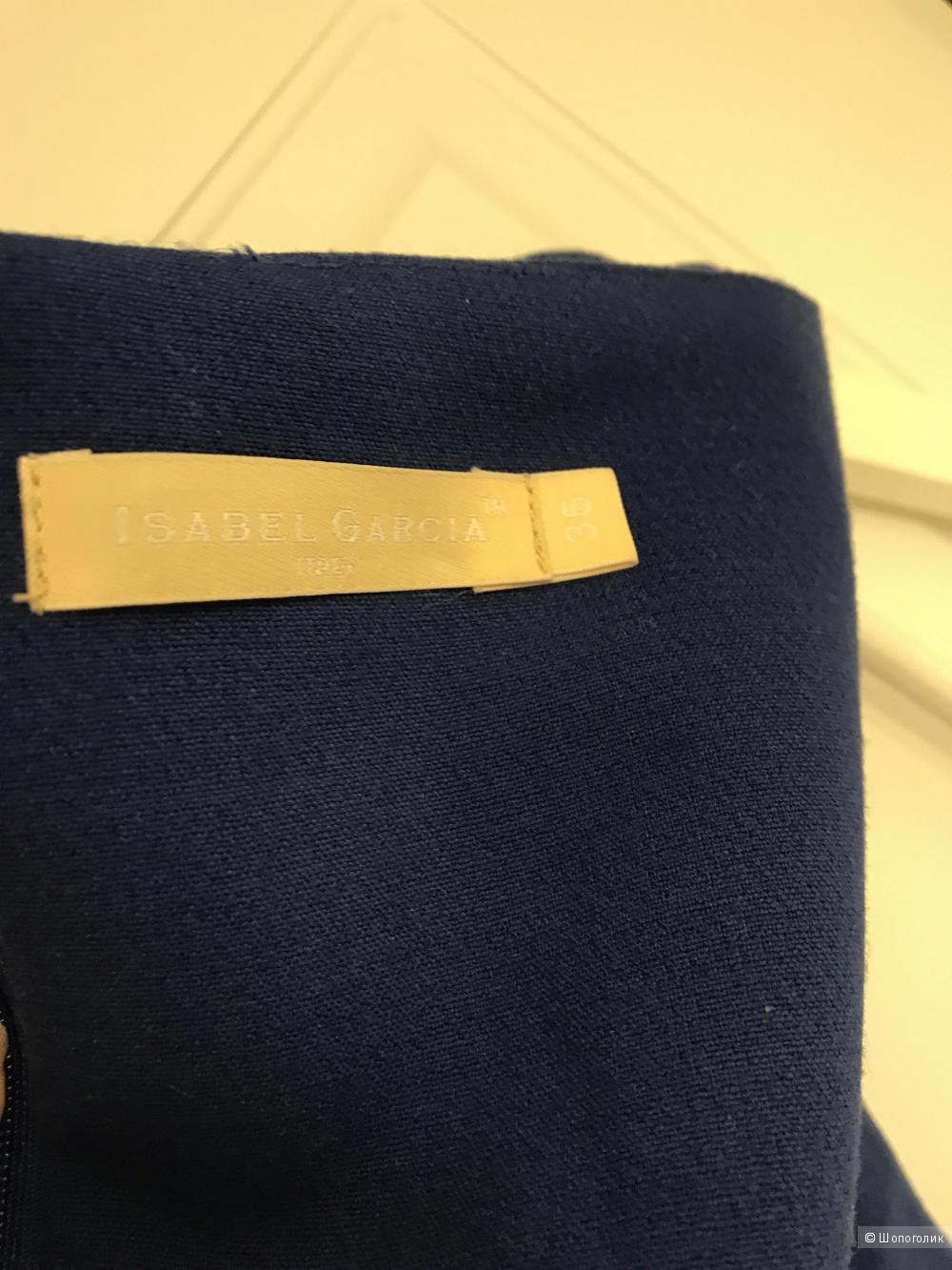 Синее платье в пол Isabel Garcia 36 размер