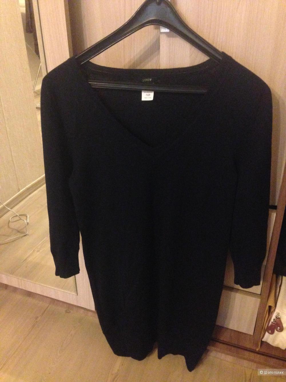 Платье из шерсти мериноса  на xs -s
