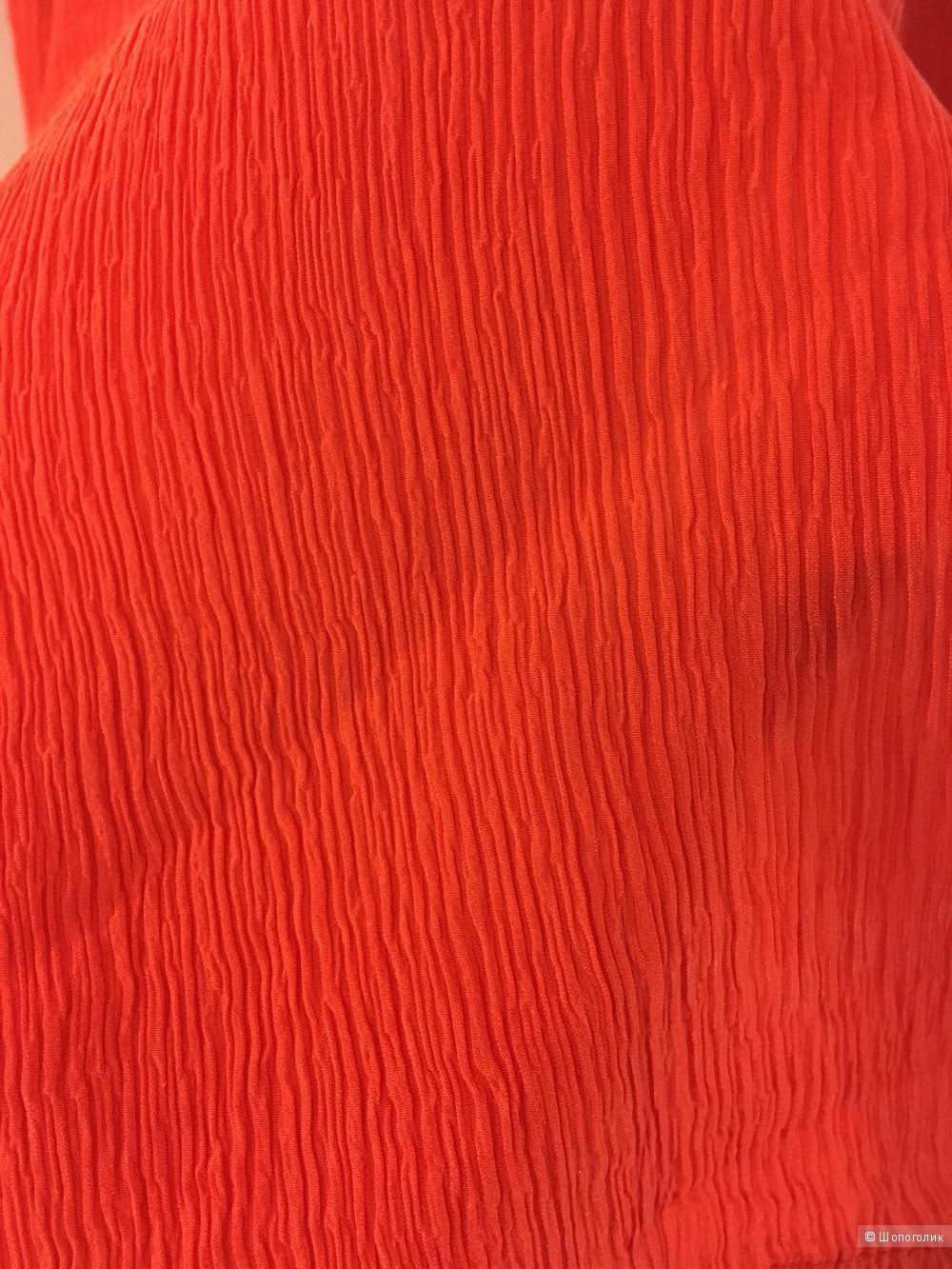 Новое платье-туника, натуральный шёлк, 46-48