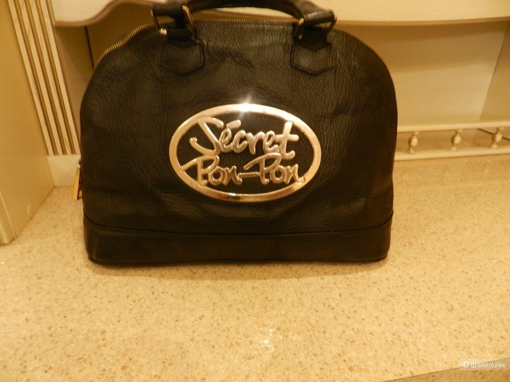 Кожаная сумка Secret Pon-Pon