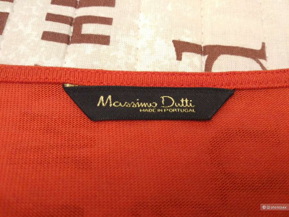 Оранжевый кардиган Massimo Dutti размер XS-S