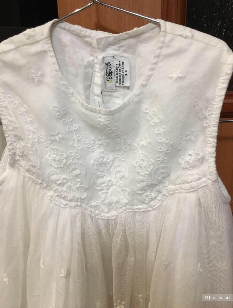 Платье, mamas&papas, 3-4 года