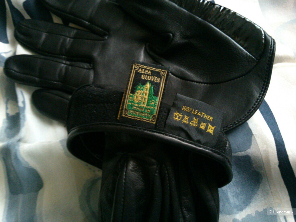 Кожаные перчатки Alpa Gloves ( Hungary). Размер: 6 1/2.