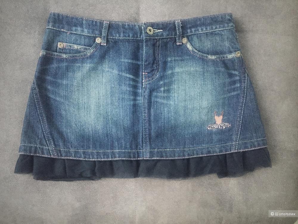 Джинсовая юбка Stefanel, 42 размер