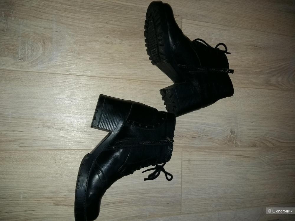 Ботинки кожаные fru.it, 38 размер, до минус 5