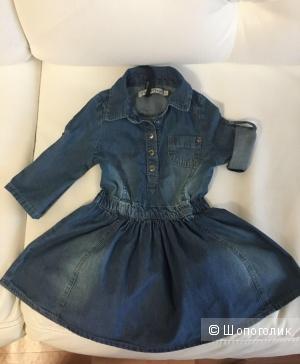 Платье, MinyMo, 98 см