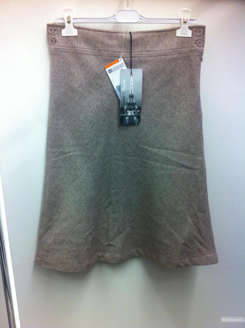 Шерстяная юбка La Reine Blanche, 46