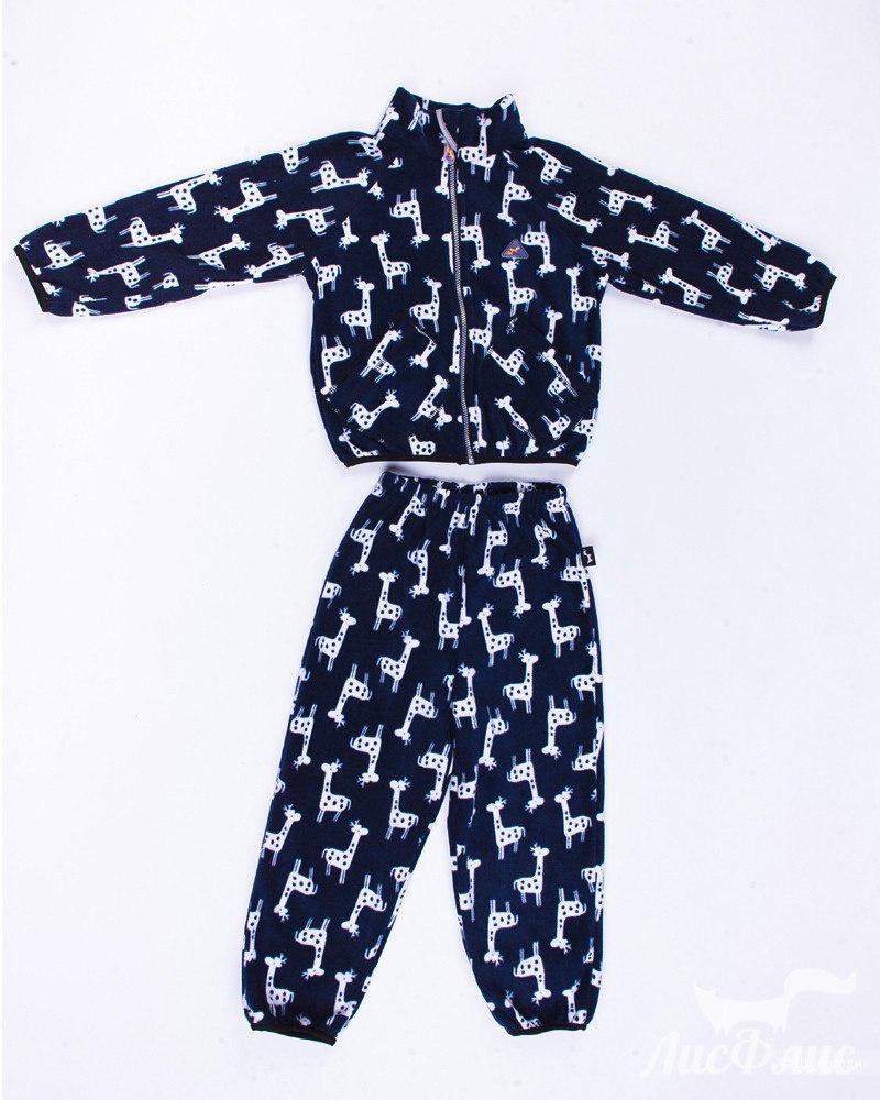 Флисовый костюм (поддёва) ТМ ЛисФлис р. 128