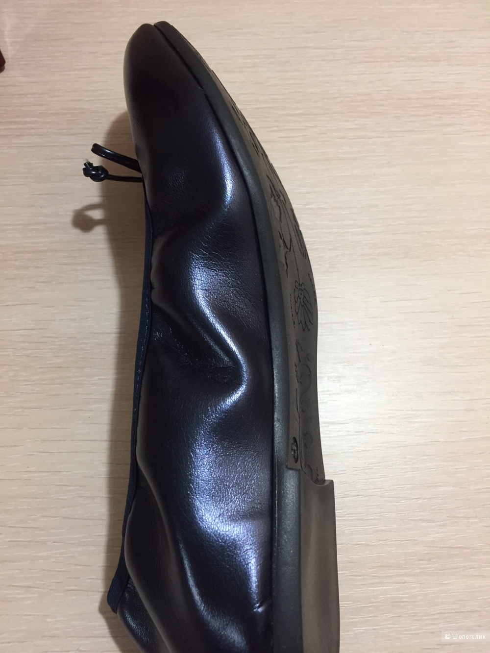 Балетки кожаные HL размер 38