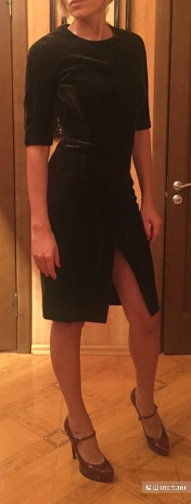 Платье бархатное Balunova 44 размер