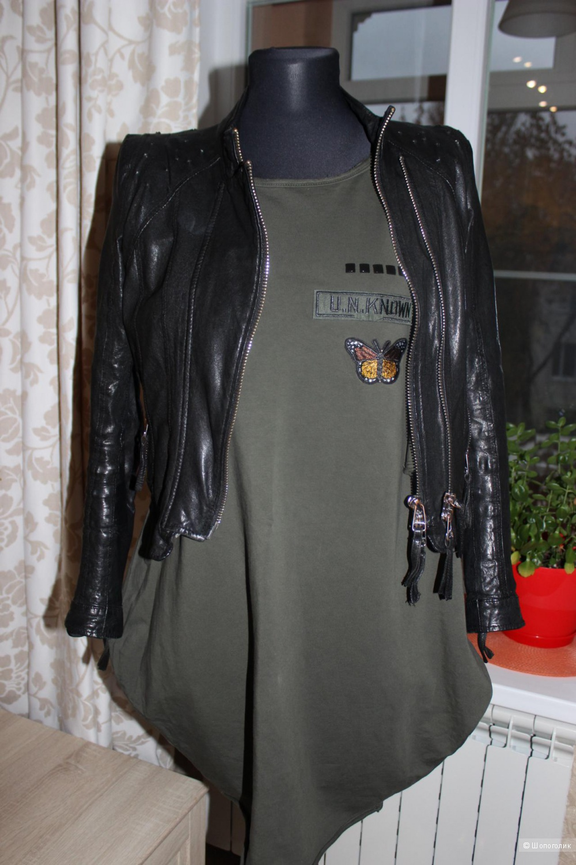 Стильное платье спорт-шик CHIC&POP, размер 42-44