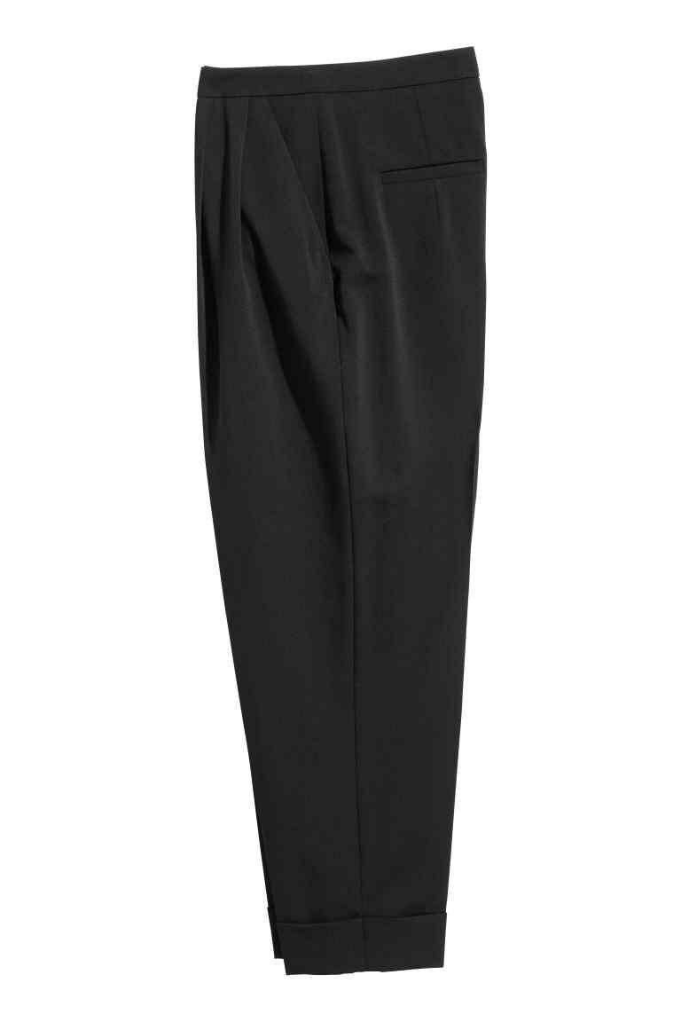 Модные брюки из смесовой шерсти  HM размер евро34