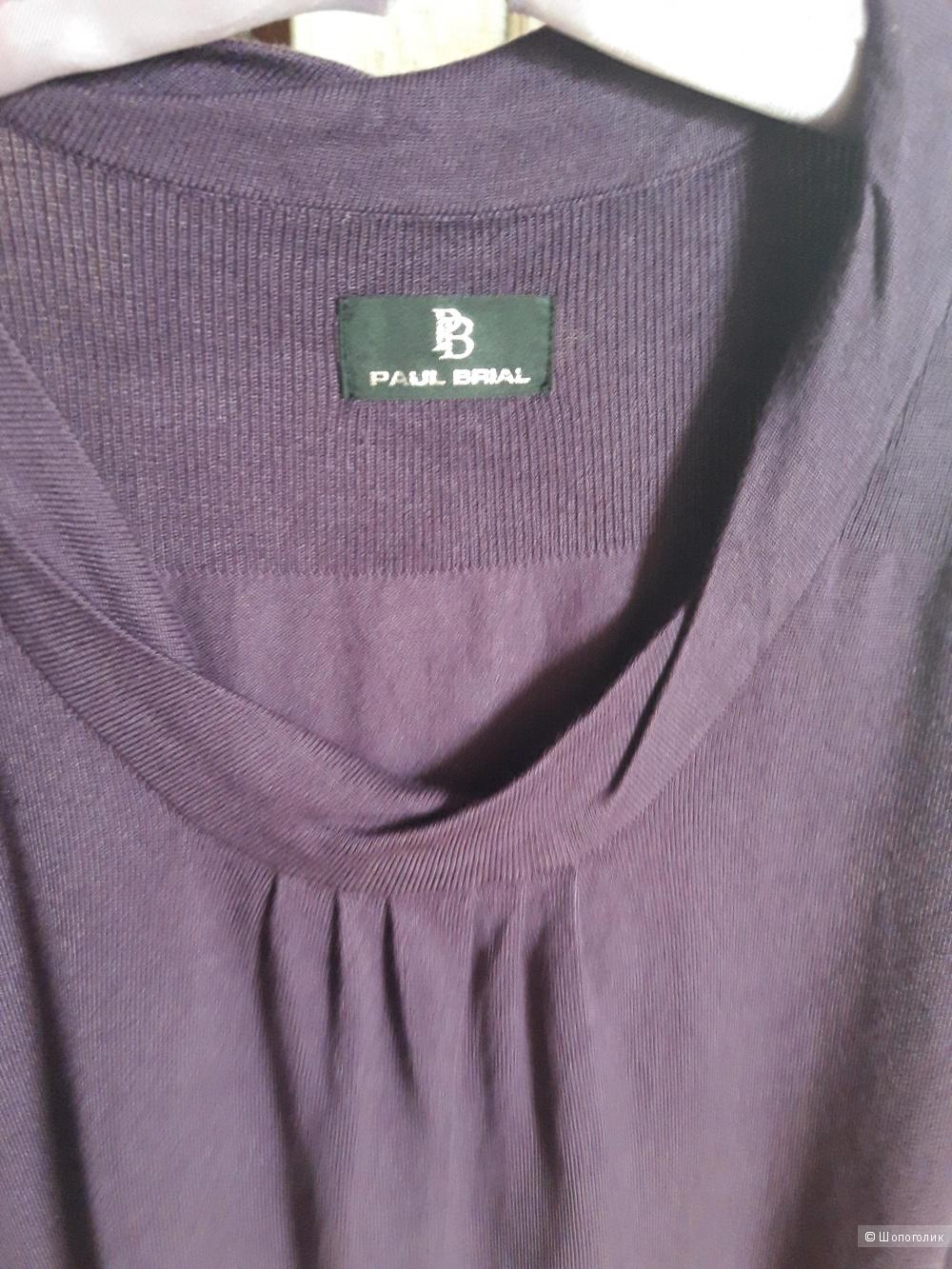 Трикотажное платье Paul Brial, размер 44-46.