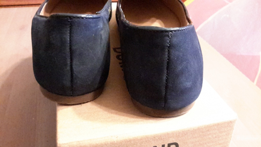 Балетки Dumond синего цвета размер 39 на 38