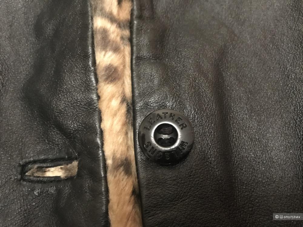 Двухстороняя шуба Wilsons leather, 4-5 лет.