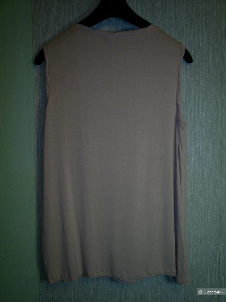 Топ пудрового цвета от John Rocha р 16 евр на 50-52 русс.