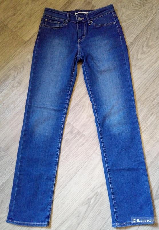 Джинсы Levi's 712 Slim, оригинал, W28 L32