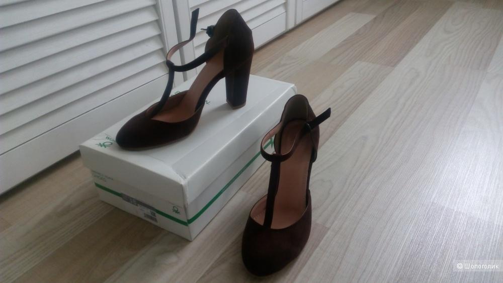 Новые туфли benetton 38 размер