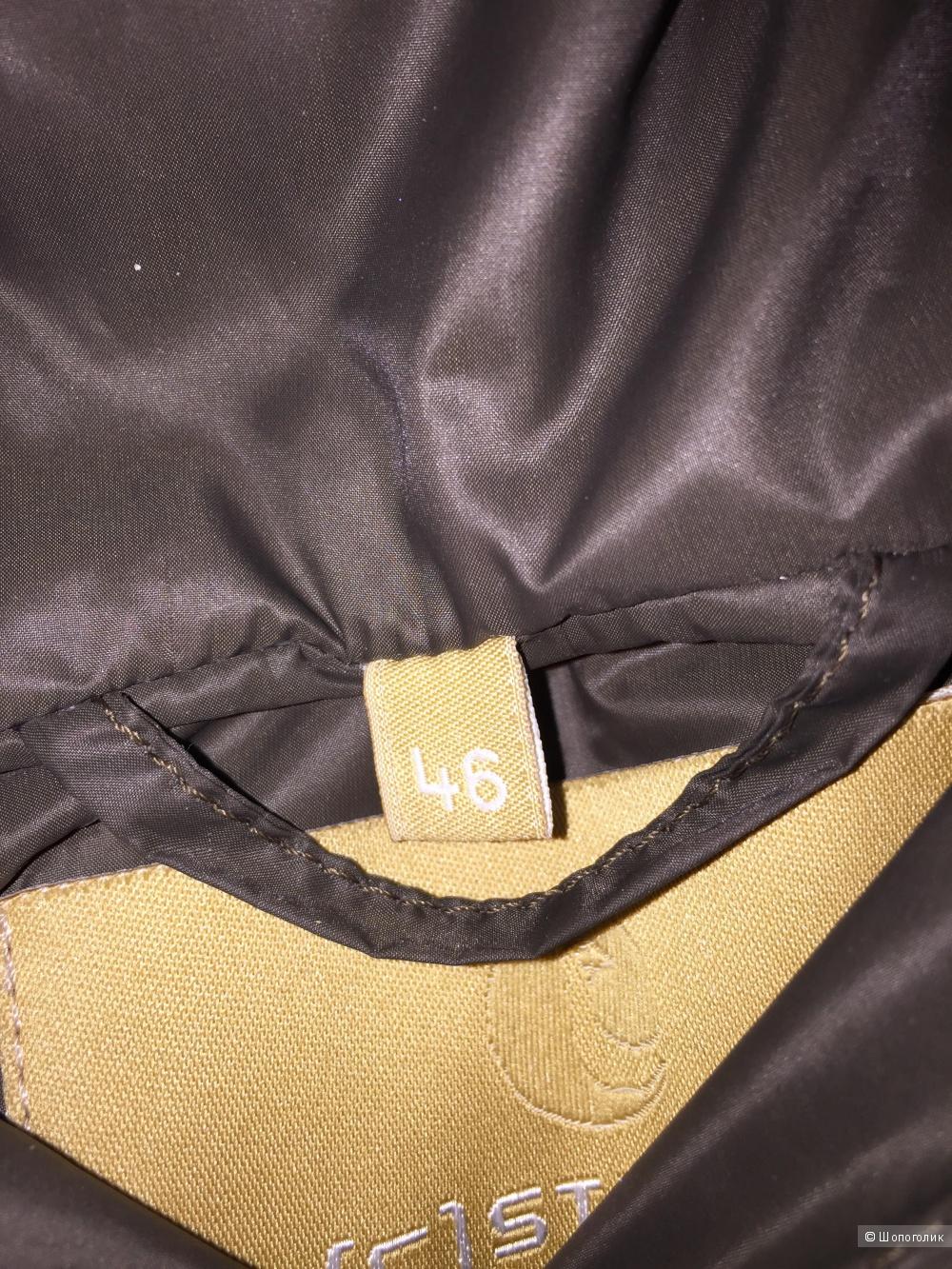 Пуховик (С) STUDIO 46 итальянский на наш 48-50 размер новый, но есть нюанс.