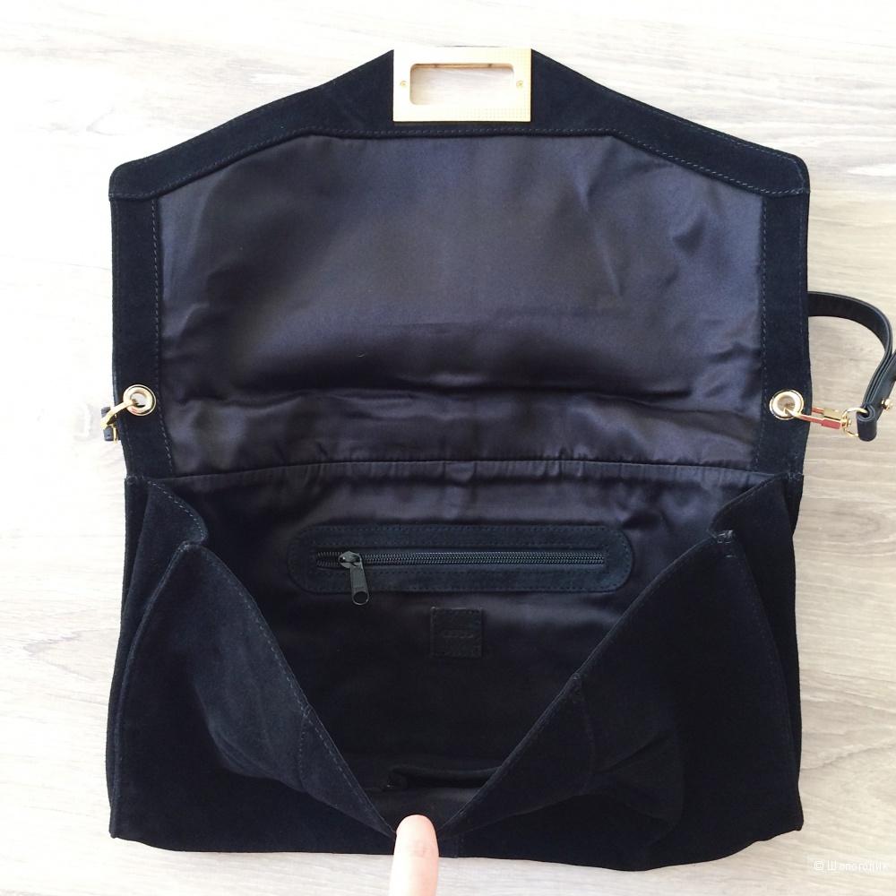 Замшевая сумка ASOS