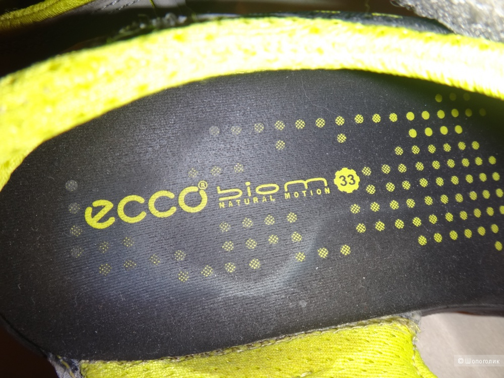 Босоножки детские 33 размер ECCO