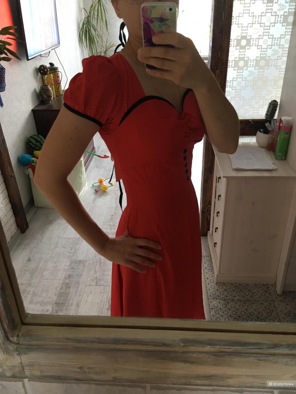 Новое платье в стиле пин-ап, 44 размер