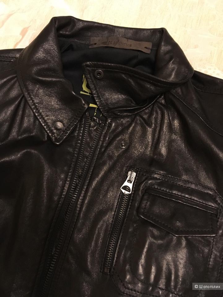 Кожаная куртка муж.   BLANCHEUR 50-52