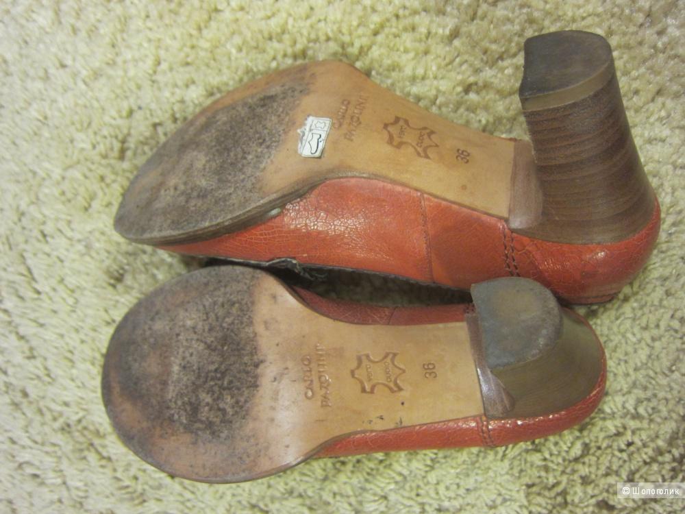 Кожаные туфли Carlo Pazolini, размер 36,5-37