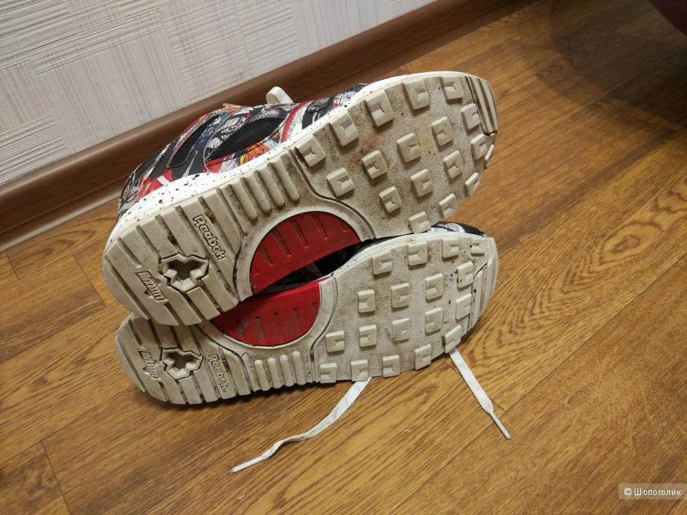 Лимитированные кожаные кроссовки OLKA X REEBOK VENTILATOR 37 размера