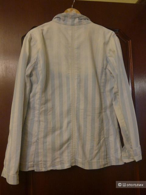 Новый джинсовый пиджак Semaforo denim, 50 размер