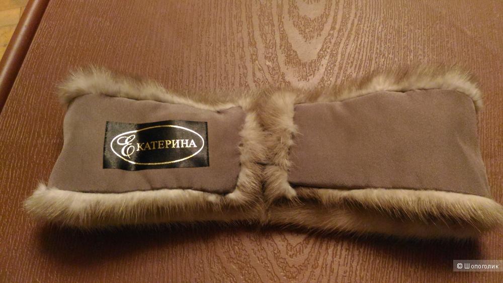 Повязка на голову из меха норки, Екатерина