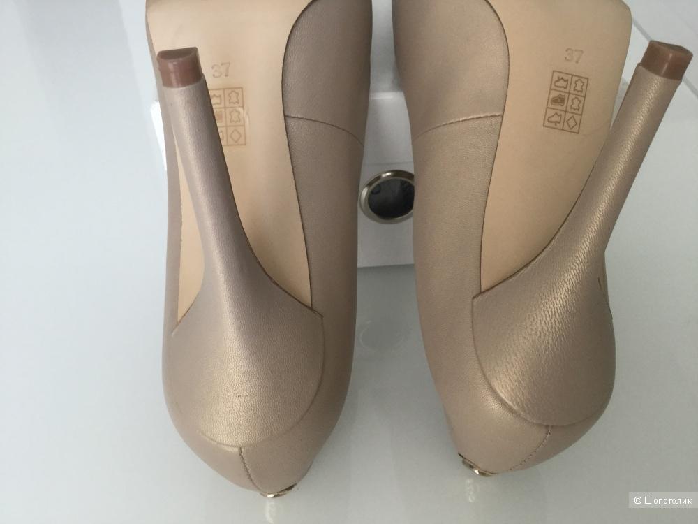 Туфли из натуральной кожи Guess, размер 37