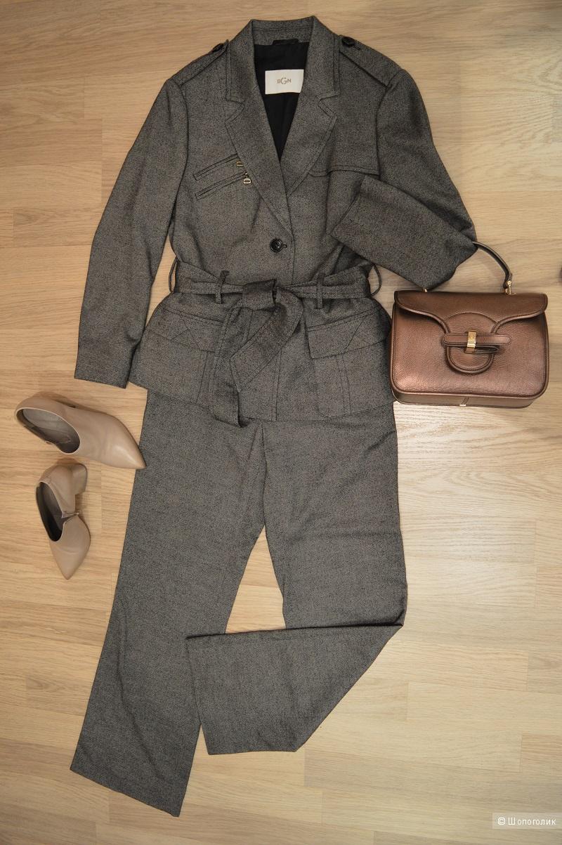 Костюм брючный,женский,Франция, бренд BGN, размер 44.