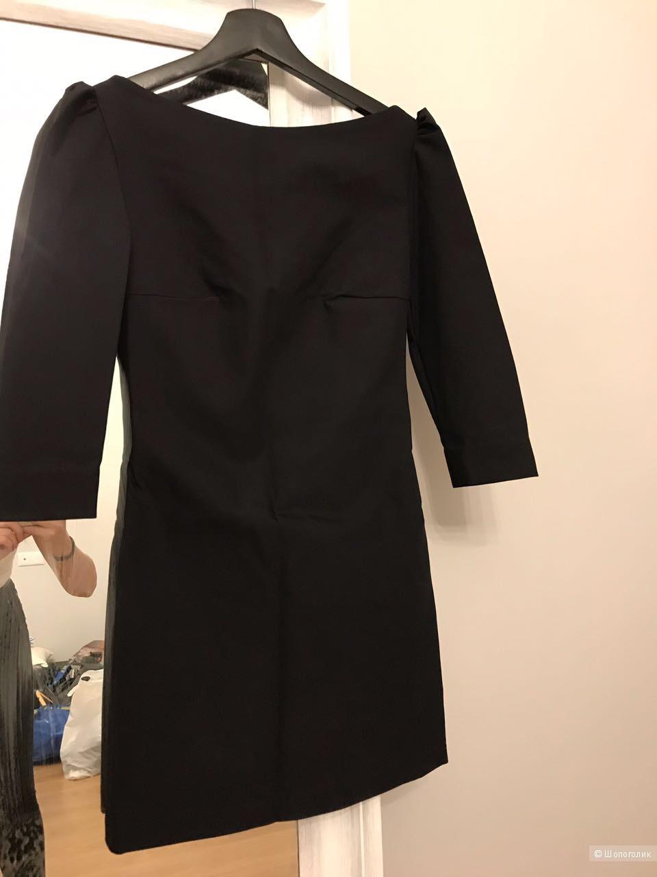 Платье черное размер XS