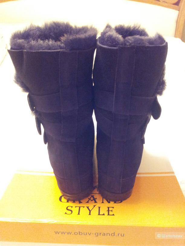 Зимние полусапоги Grand Style размер 37 новые