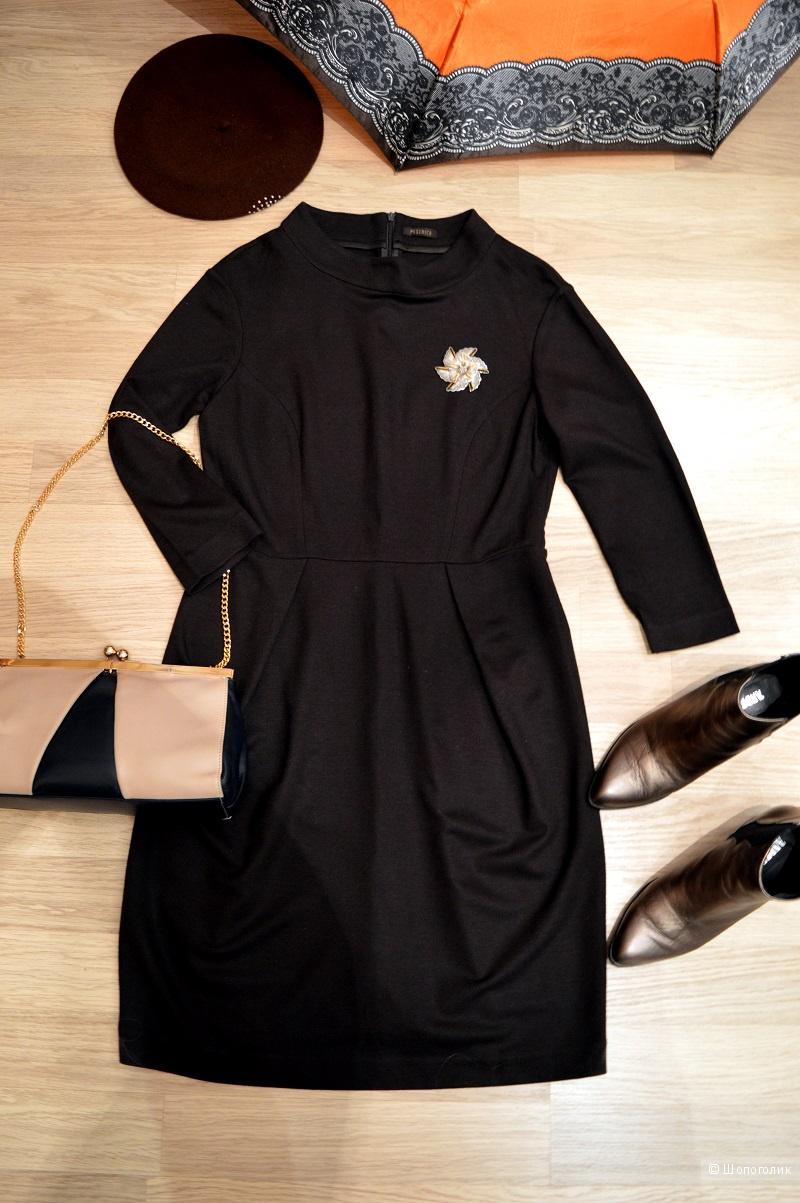 Платье ,Италия, бренд  PESERICO. размер 46-48.
